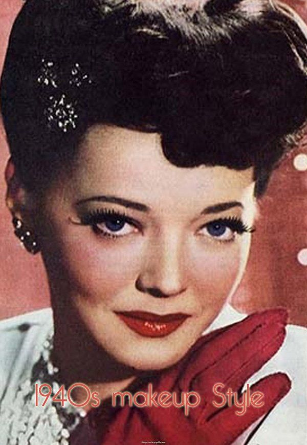 50s style makeup tutorial