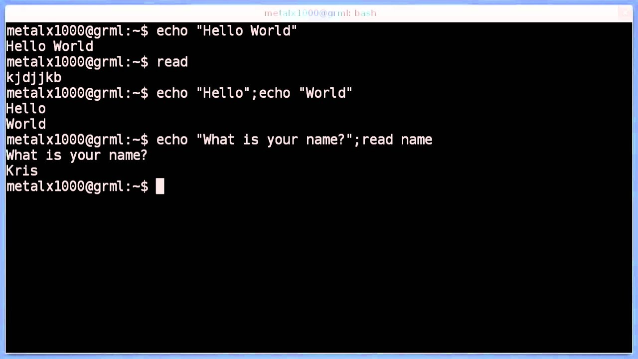 unix shell scripting video tutorial free download
