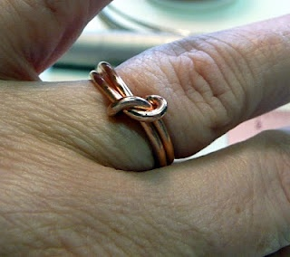 wire knot ring tutorial free