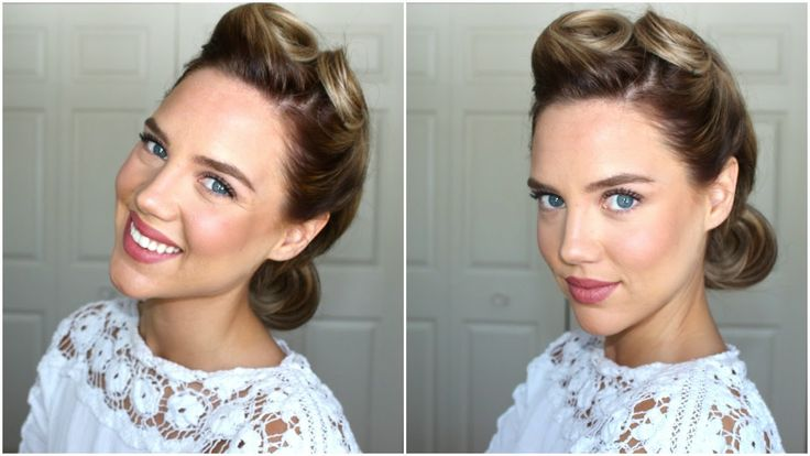 40s hairstyles for long hair tutorial