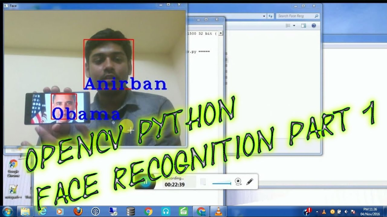 opencv image recognition tutorial