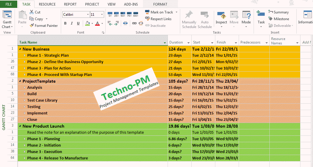 microsoft office project tutorial