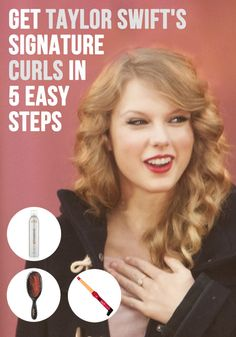 taylor swift hair tutorial