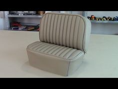 tuck and roll upholstery tutorial