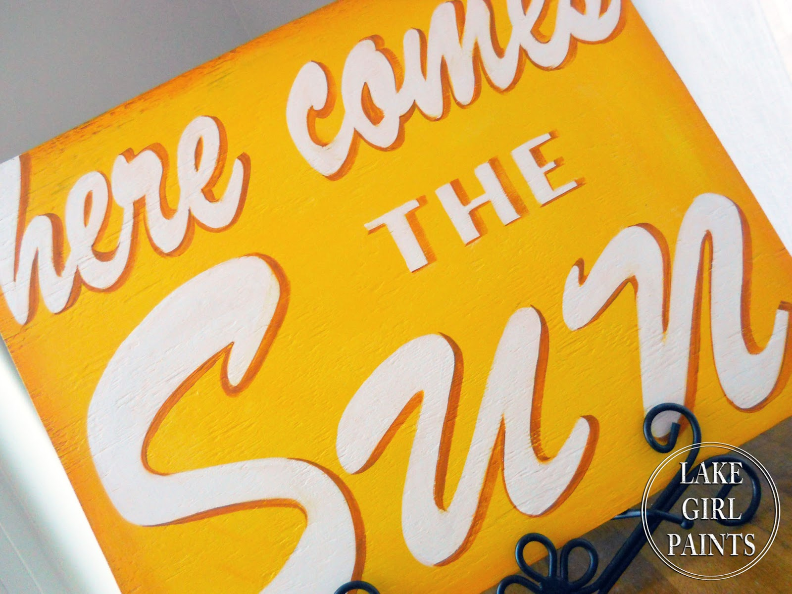 here comes the sun tutorial