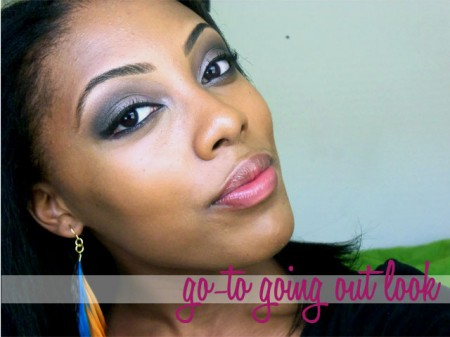 going out eye makeup tutorial
