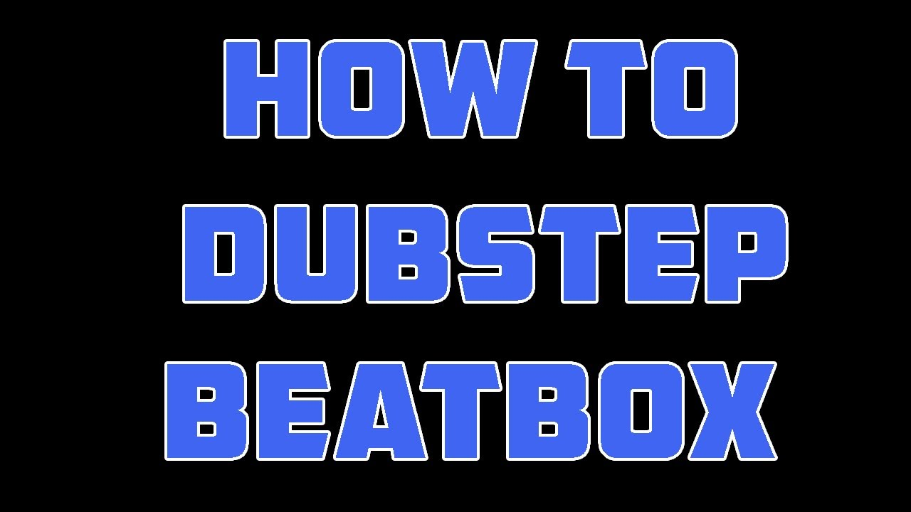 not another dubstep tutorial