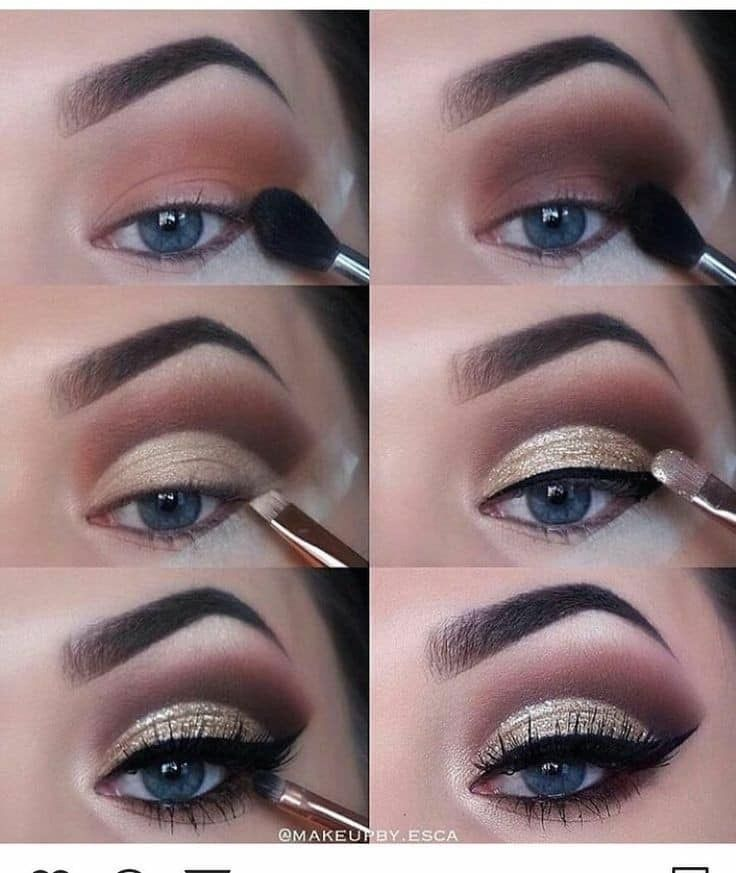 mac makeup eyeshadow tutorial