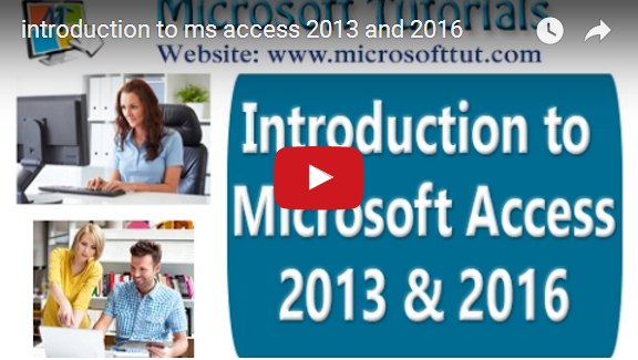 ms access 2013 tutorial pdf with examples