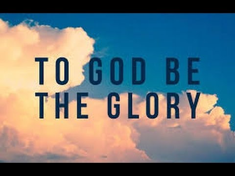 to god be the glory piano tutorial