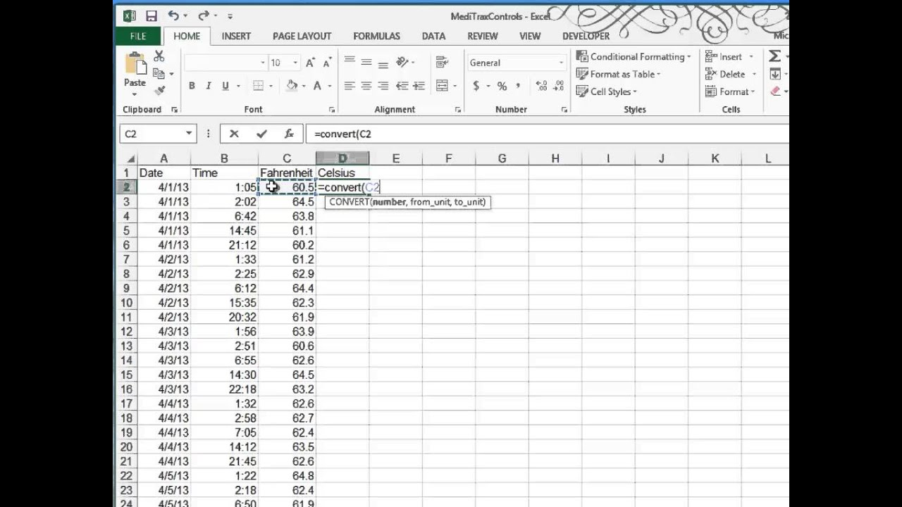 youtube com excel tutorial